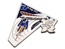 "OFFICIAL LICENSED LONDON 2012 OLYMPIC GAMES PIN / BADGE ""CYCLING"" DAY #11"