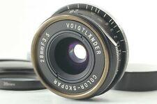 【NEAR MINT】Voigtlander Color-Skopar 28mm F/3.5 Lens for Leica L39 from JAPAN