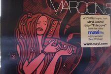 MAROON 5 - THIS LOVE / HARDER TO BREATHE - US Promo Cd Single - songs jane mavi