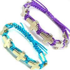 Markenlose Modeschmuck-Armbänder aus Edelstahl mit Diamant