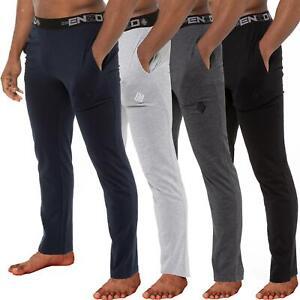 Enzo Mens Pyjama Pants Lounge Bottoms Nightwear Trousers PJs Jersey Loungewear