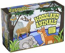 US Toy Woodland Forest Toy Animal Figures Action Figure (1 Dozen)