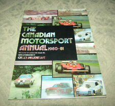 The Canadian Motorsport Annual 1980-81 by Wheelspin News
