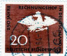 250 Jahre Bundes Rechnungs Hof 20 Pf. Gestempelt **Adler mit Krone** (2)
