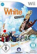 Nintendo Wii +Wii U SHAUN WHITE SNOWBOARDING WORLD STAGE *Neuwertig