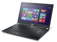 "Acer TravelMate P645 Intel i7 4500u 1.80Ghz 8Gb Ram 256Gb SSD 14"" HDMI Win 10"