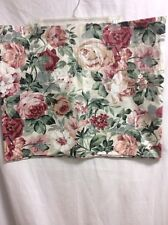 "CROSCILL VALANCE FLORAL  90"" X 18"" Shabby French Country FUN!! P1"