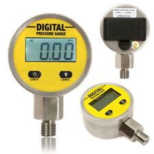 Digital Hydraulic Pressure Gauge 0-250BAR/25Mpa/3600PSI (NPT1/4) -Base Entry