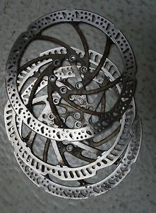 A020-161: 3 Bremsscheiben Tektro 6 Loch 180 mm