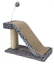 Cat Scratching Post Leopard Print Cats Kittens Furniture