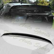 For 16-20 Chevy Camaro Factory Style 3-Piece Painted BLK ABS Rear Trunk Spoiler