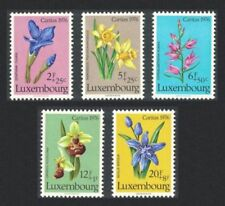 Flowers Mint Never Hinged/MNH Luxembourg Stamps