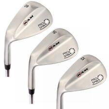 Ram Golf Pro Spin 3 Wedge Set - 52° Gap, 56° Sand, 60° Lob Wedges Mens Left Hand