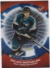 2003/4 Pristine Rare Rookie Milan Michalek San Jose Sharks RC 059/199
