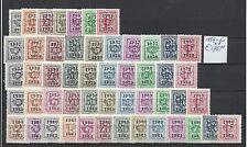 BELGIE - BELGIUM @ 1954 - 60 PREO S    MNH **   € 175.00  @ BEL.37
