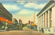 Dothan, AL  Newberry's 5 & 10 and The Ritz Theatre on Foster Street