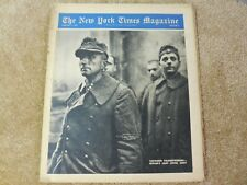 New York Times magazine Feb 4 1945 Hitler's last ditch army captured Volkssturme