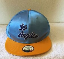 NBA Los Angeles Lakers Blue Satin 7 7/8 Hat NEW