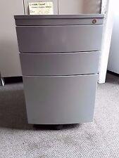 Grey Lockable Filing Cabinet- (D) 575 mm x (W) 400 mm x (H) 650 mm- $35.00 each