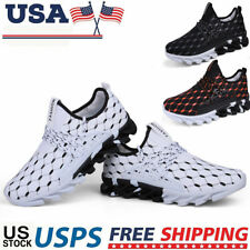 Men's Large Size Breathable Sneakers Ultra Light Casual Fitness Running Shoes