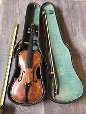 Rare Antique Jacobus Stainer Violin, Case & Bow in Abfam prope Oenipontum 1700s