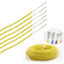 PVC Electronic Wire Flexible Cable UL1015 Equipment Car PC Internal Wires Yellow