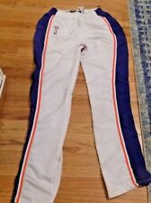 Patrick Ewing Game Worn Used NY New York Knicks 1996-1997 Warmup Pants