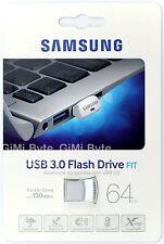 Samsung 64 GB MUF-64BB USB 3.0 Flash Drive Memory Stick 130MB/S Silver Fit 64G