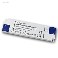 LED Super Slim transformer 12V DC, 50W, transformer, EVG, Drivers flat