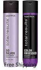Matrix Total Results so silver Color Obsessed Shampoo and Conditioner 10.1oz Duo