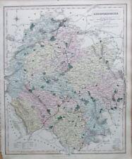 Herefordshire 1800-1899 Date Range Antique Europe Sheet Maps