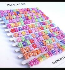 12 x Party bag fillers Princess Yummy Bracelets favours loot bags Choose style