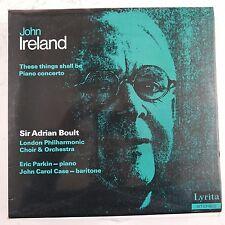 vinyl lp record JOHN IRELAND these things shall be , adrian boult - eric parkin