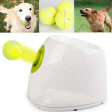 Dog Tennis Ball Thrower Doggie Puppy Exercise Trainer Catch Toy Cricket Baseball