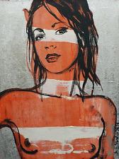 "PRICE REDUCED! David Bromley ""Original"" Painting BELINDA, NUDE SERIES 61 x 46cm"