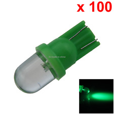 100x Green Car T10 W5W Side Light Lamp Marker Lamp PCB 1 In-line LED A082