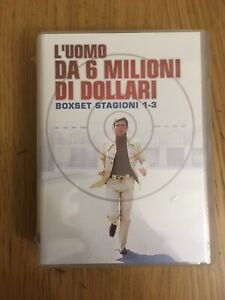 L'UOMO DA 6 MILIONI DI DOLLARI - COFANETTO DVD - NUOVO - STAGIONI 1-3
