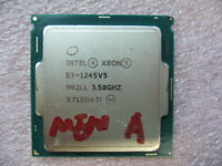QTY 1x Intel CPU E3-1245V5 Quad-Cores 3.50Ghz 8MB LGA1151 SR2LL mem A not work