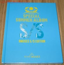NINE MUSES 9MUSES S/S EDITION SPECIAL SUMMER ALBUM K-POP CD + POSTER IN TUBE NEW
