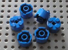 6 x LEGO Blue Brick Round 2x2 ref 3941 / set 7727 10195 7675 7171 483 7131 6977