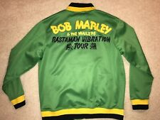 Bob Marley & The Wailers ~ Rastaman Vibration Tour Jacket ~ Catch a Fire ~ XXL