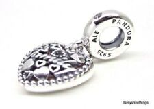 NEW!  AUTHENTIC PANDORA CHARM  LOVE MAKES A FAMILY DANGLE #796459EN28