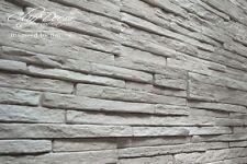 NEW! 24 plastic molds *VERMONT* for concrete veneer wall stone stackstone tiles
