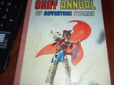 THE OKAY ANNUAL OF ADVENTURE STORIES - VARIOUS - 1958 1ST.EDITION