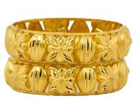 Indian Gold Plated Bangle Traditional Bracelet Women Jewelry 2*6,2*8 Bsv106