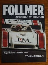 FOLLMER  American Wheel Man Tom Madigan (2013, Hardcover) Unopened CD vt