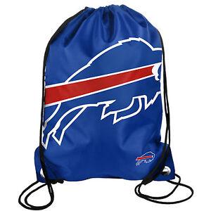Buffalo Bills BIG LOGO Drawstring Back Pack NEW Back Sack Free Shipping