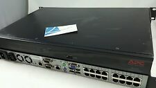 APC AP5610 2x1x16-Port 520-701-501 IP Digital KVM Switch w/ Rack Ears