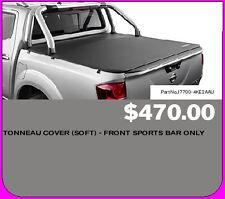 Nissan NAVARA Np300 Tonneau Cover Soft - Front Sports Bars Only J77004KE2AAU
