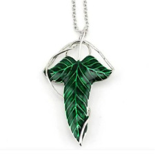 Lord of the Rings Leaf Necklace - Brooch Pin Badge - Hobbit